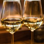 verres vin blancs