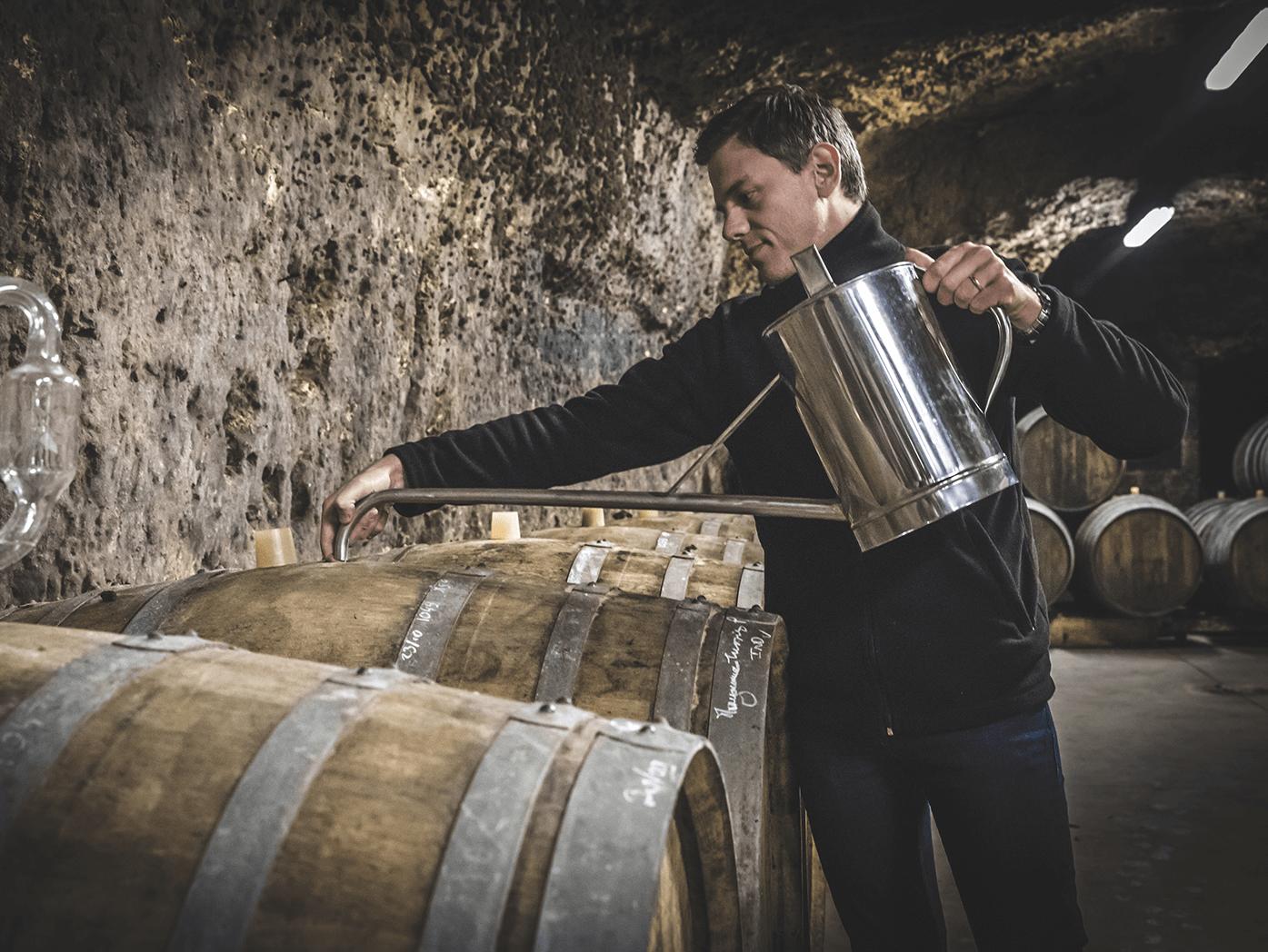 vinification barrique