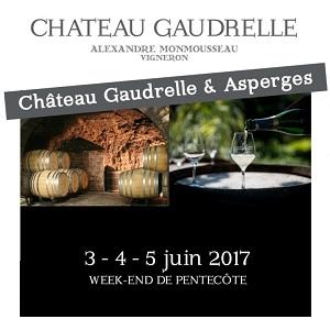 Château Gaudrelle & Asperges