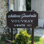 Pancarte Chateau Gaudrelle